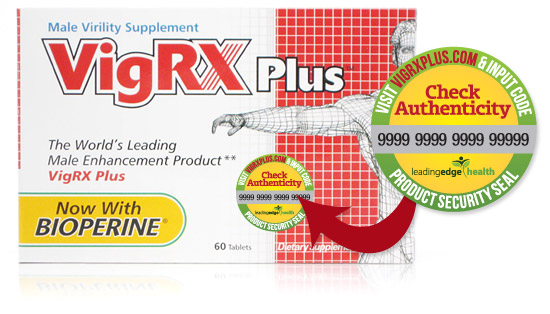 VigRX Plus Seal of Authenticity